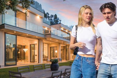 Kakav raj: Bruklin Bekam i Nikola Pelc ponosni vlasnici luksuzne vile na Beverli Hilsu (foto)