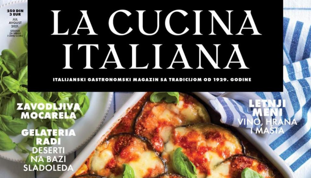 La Cucina Italiana - Nova i osvežena gastronomska biblija!