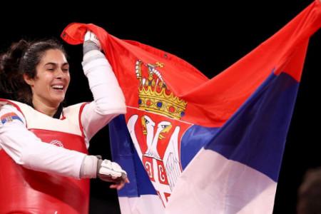 Ponos Srbije: Olimpijsko zlato za Milicu Mandić! Bravo, carice! (foto)
