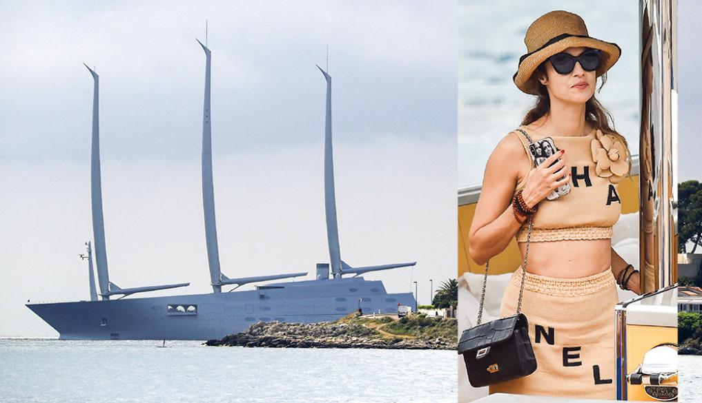 Nije joj lako ući u trag: Sandra Meljničenko plovi Mediteranom, evo koja dama joj pravi društvo (foto)