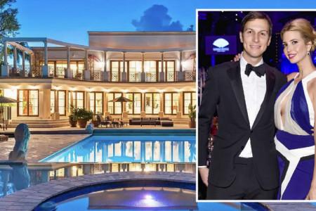 Bela kuća na Ostrvu milijardera: Zavirite u novi dom Ivanke Tramp vredan 24 miliona dolara (foto)