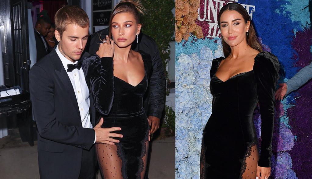 Modni dvoboj: Tamara Kalinić i Hejli Biber odabrale identičnu kreaciju, kojoj bolje stoji skupocena haljina?