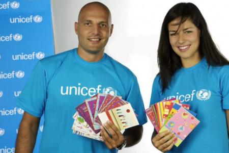 Ana Ivanović i Aleksandar Saša Đorđević nastavljaju saradnju sa UNICEF-om kao nacionalni ambasadori