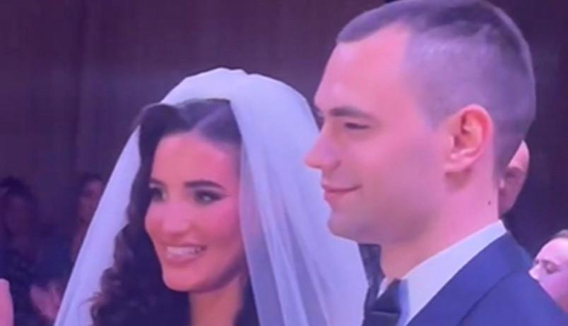 Oženio se Kostadin Terzić! Svadba u prestižnom hotelu, trudna mlada pleni lepotom (video)