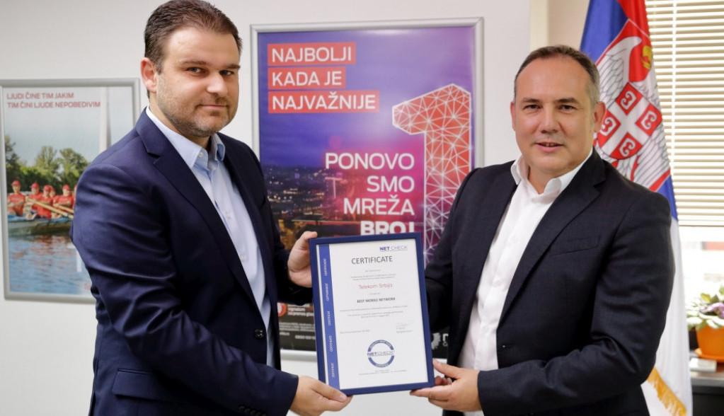Mts najbolja mreža u Srbiji - potvrdio Net Check