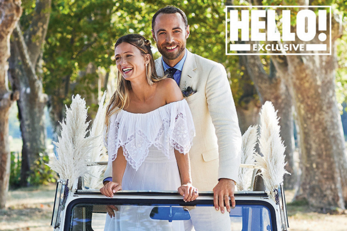 Svetska ekskluziva u magazinu HELLO!: Bajkovito venčanje Džejmsa Midltona i Alize Tevene