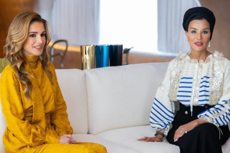 Susret modnih ikona konzervativnog sveta: Jordanska i katarska kraljica oduševile odevnim kombinacijama