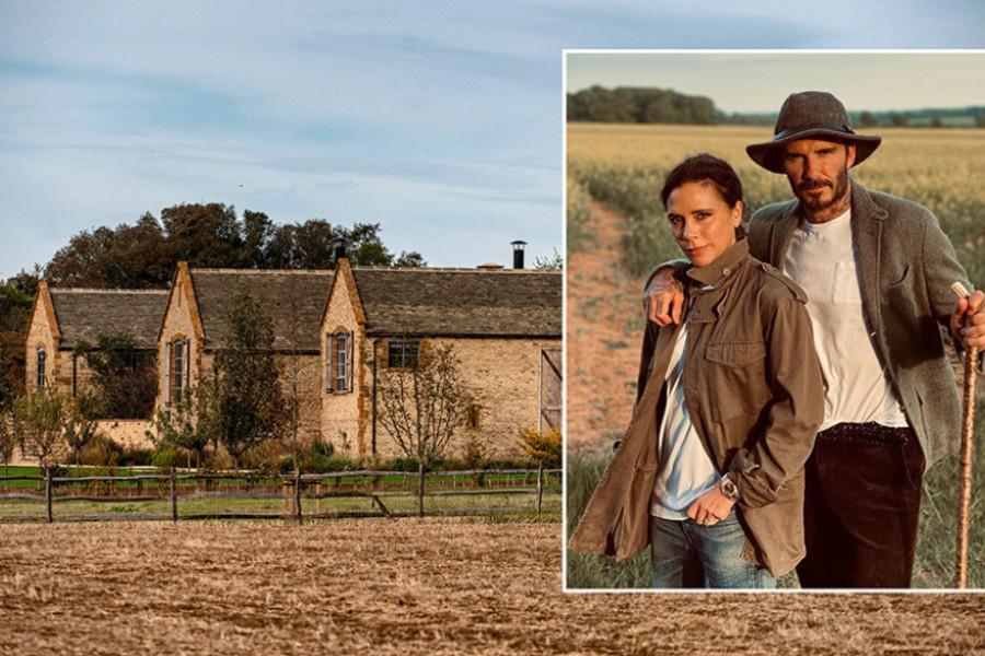 Šarm stare Engleske: Zavirite u raskošno seosko imanje porodice Bekam (foto)