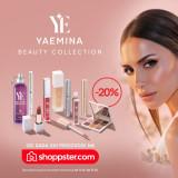 Yaemina Beauty, gde god da si ti: Cela kolekcija kozmetike Emine Jahović dostupna je online na Shoppster.com!