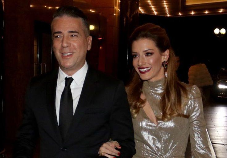 Jovana i Željko Joksimović proslavili osmu godišnjicu braka