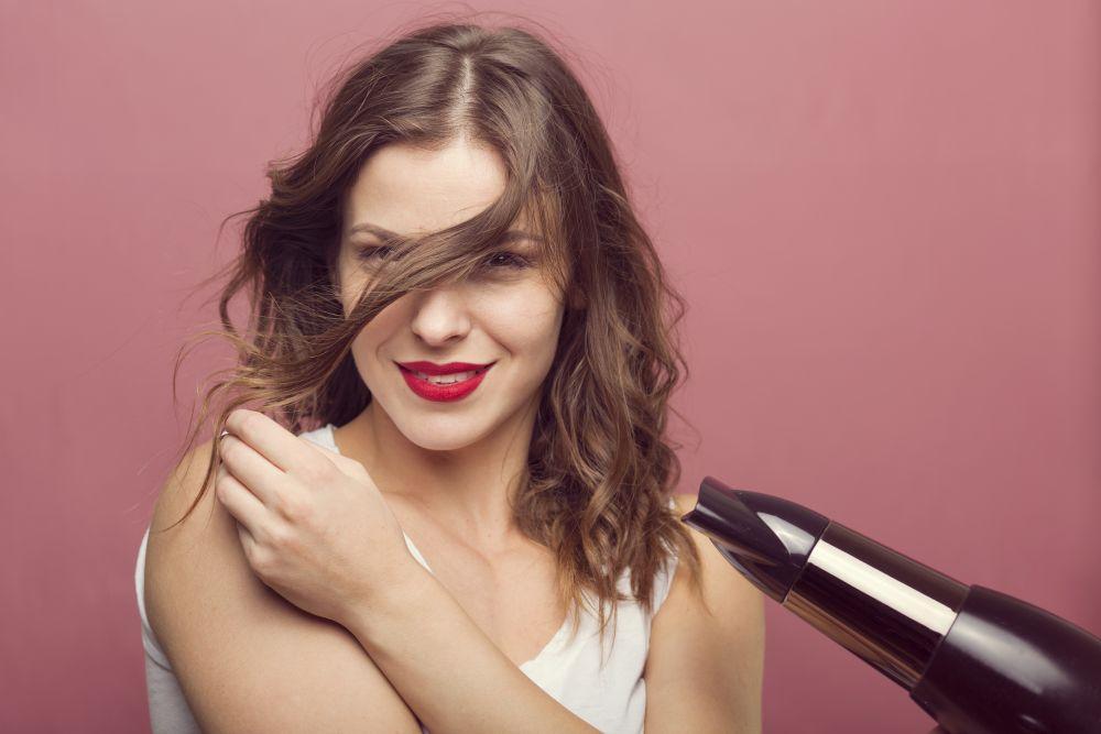 osušiti kosu bez upotrebe fena