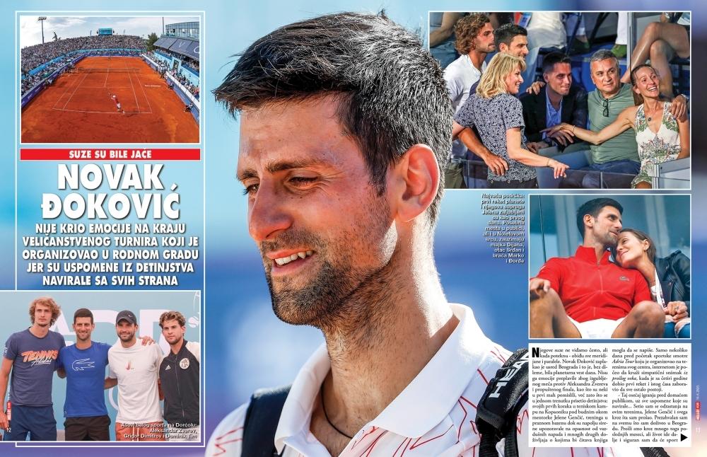 Novak Đoković korona