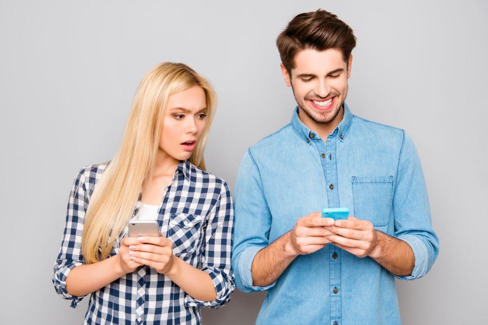 partnerov mobilni telefon
