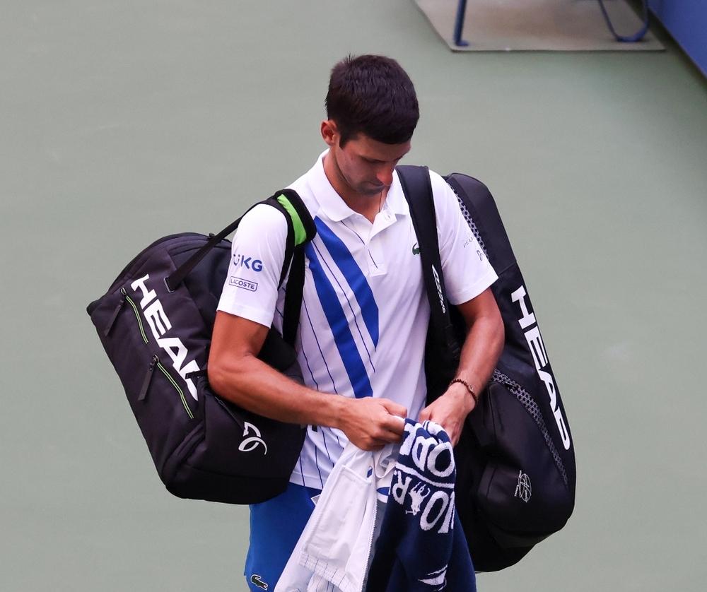 Novak Đoković diskvalifikovan na US Openu || Hello magazin