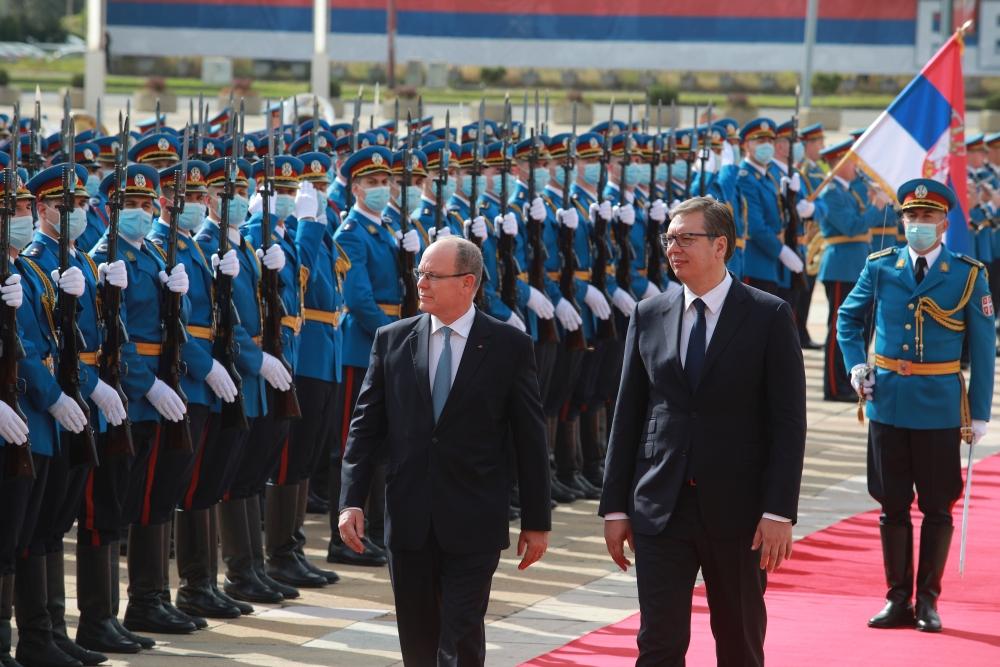 princ Albert od Monaka u Beogradu
